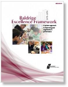 Image Baldrige Excellence Framework Cover
