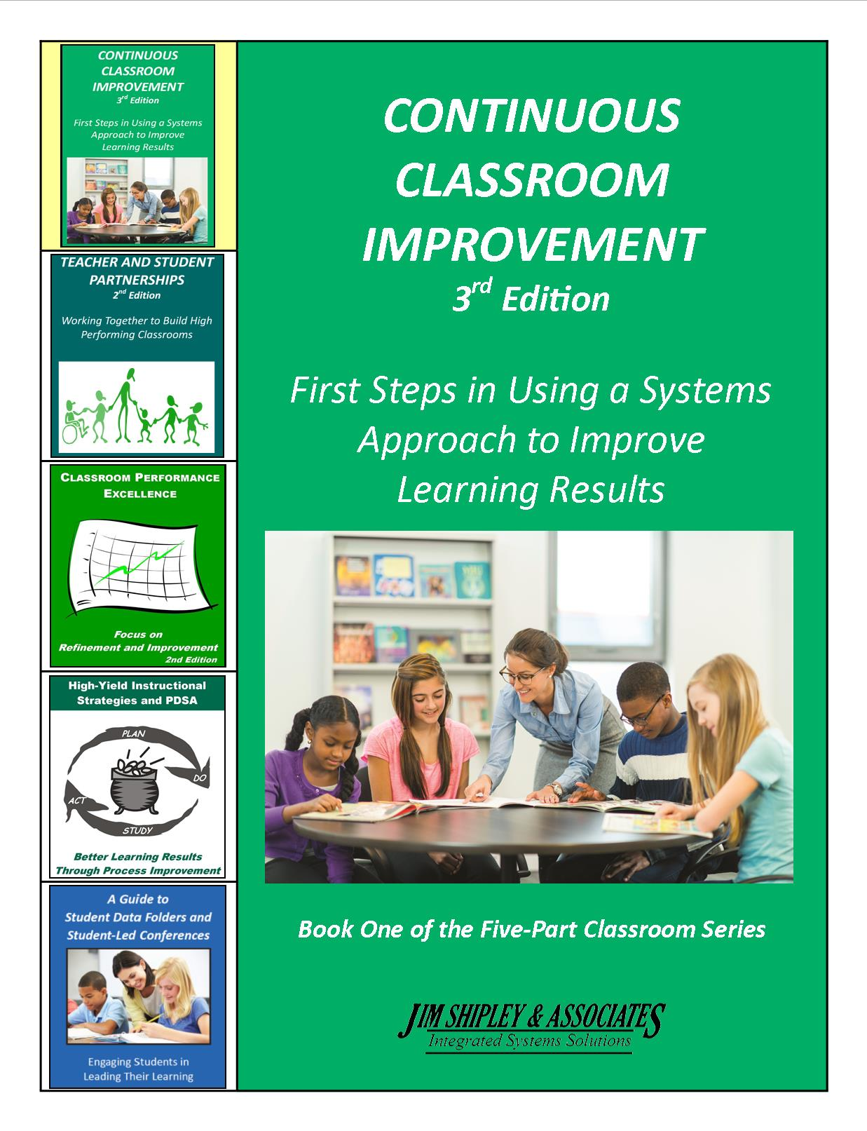 CCI3_1114 - Continuous Classroom Improvement 3rd Edition Cover Image