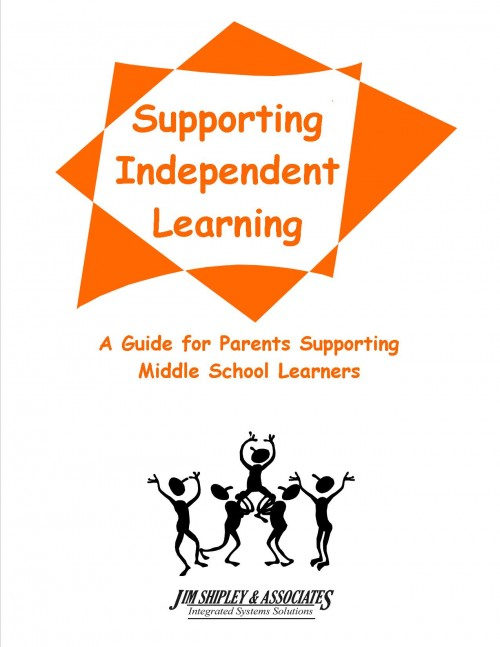PGMS - Parent Guide - Middle School - Supporting Independent Learning Cover Image