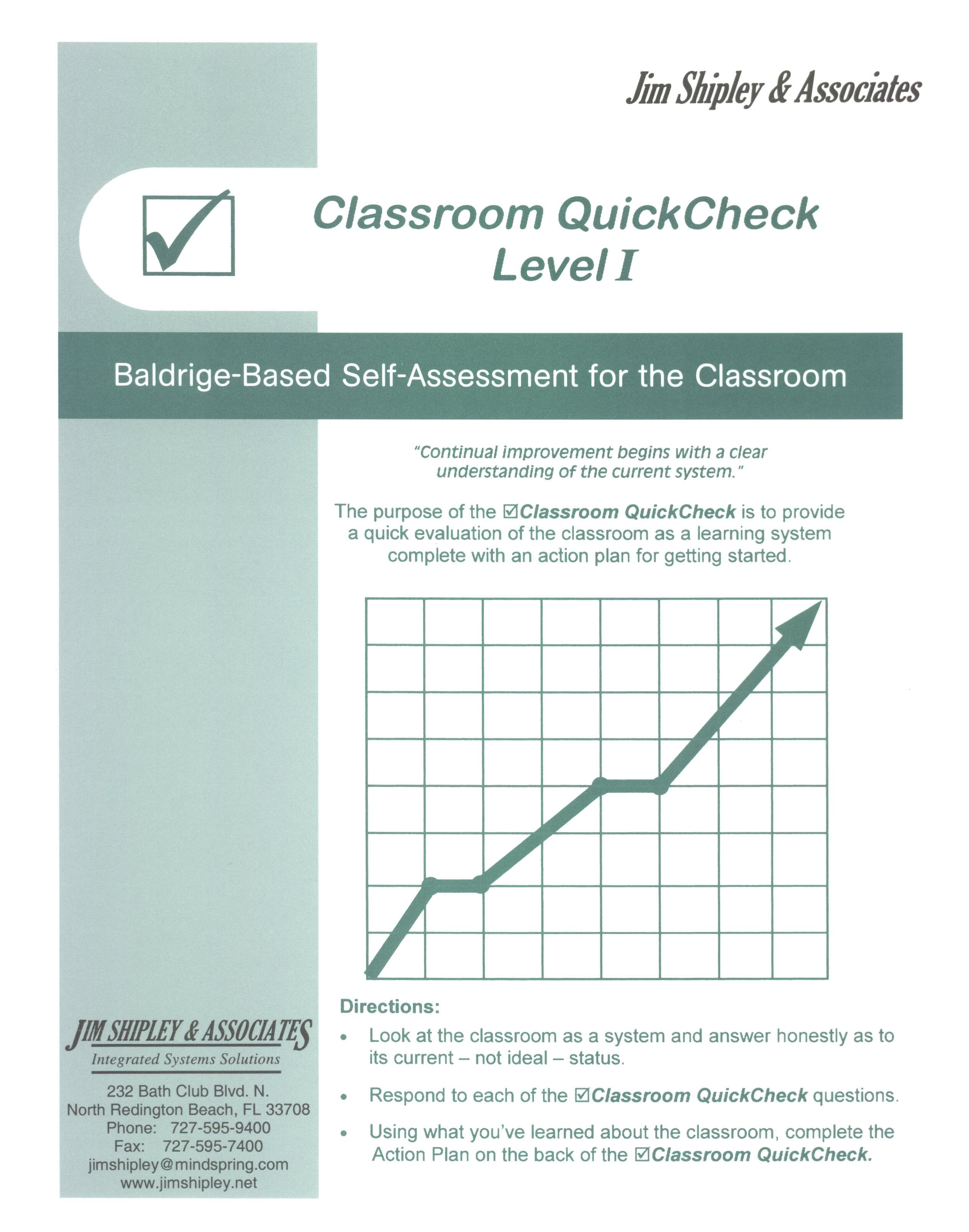 QCC - Classroom QuickCheck Cover Image