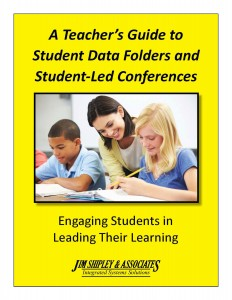 TGSD - A Teacher's Guide to Student Data Folders and Student-Led Conferences Cover Image