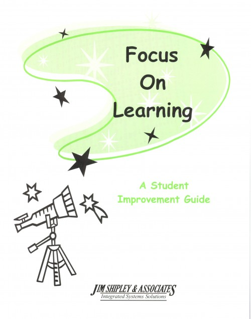 Focus - Student Guide - Grades K-3 - Focus on Learning Cover Image
