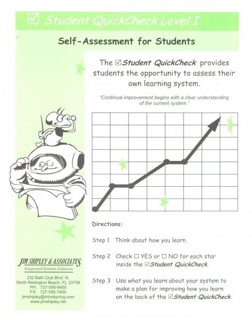 QCS - Student QuickCheck Cover Image