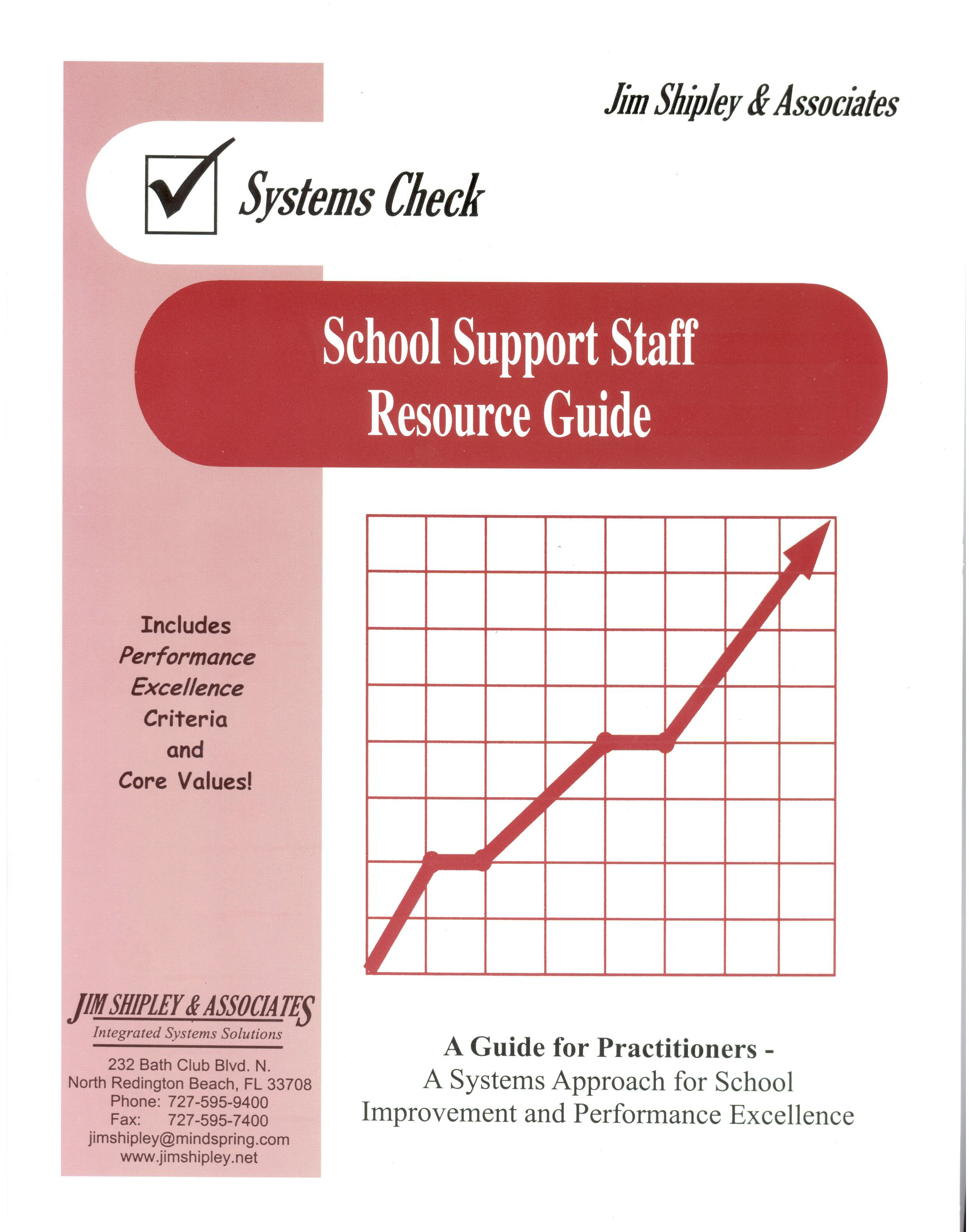 RGSSS - School Support Staff Resource Guide Cover Image